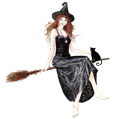 witch broomstick halloween broom brooms broomsticks vibrating potter harry souls eve cat artwork meg prints fine fly tywkiwdbi sweep word